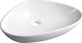 Sapho TERUEL keramické umyvadlo 58, 5x14x39 cm, na desku BH7007
