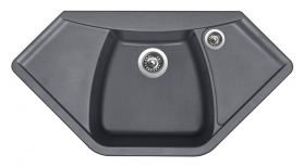Granitový dřez Sinks NAIKY 980 Titanium TLNA98051072