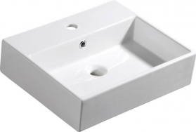 Isvea PURITY keramické umyvadlo 50x42cm (2506) 10PL50050