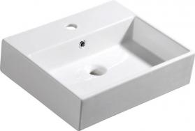 Isvea PURITY keramické umyvadlo 50x42cm 10PL50050