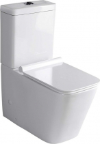 Sapho PORTO WC kombi mísa s nádržkou včetně Soft Close sedátka, spodní/zadní odpad PC102