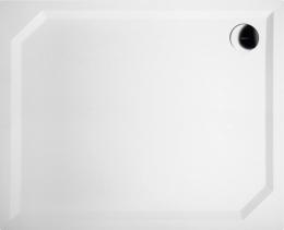 Gelco SARA sprchová vanička z litého mramoru, obdélník 110x90x4cm, hladká HS11090