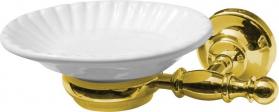 Sapho PERLA mýdlenka, keramika, zlato PE1065