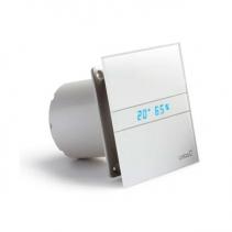 Cata E-120 GTH koupelnový ventilátor axiální s automatem, 6W/11W, potrubí 120mm, bílá 00901200