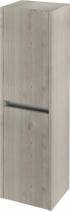 Sapho NIRONA skříňka vysoká 35x140x30cm, 2x dvířka, levá/pravá, dub Mocca NR351