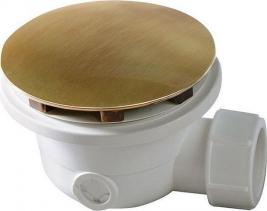 Sapho Vaničkový sifon, průměr otvoru 90 mm, DN40, krytka bronz VR836