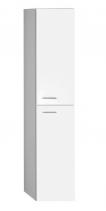 Aqualine ZOJA/KERAMIA FRESH skříňka vysoká 30x140x25cm, bílá 51155