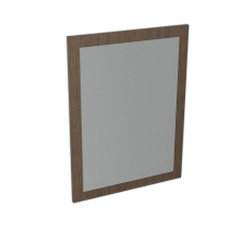 Sapho LARGO zrcadlo v rámu 600x800x28mm, borovice rustik LA612