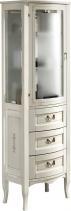 Gallo Wood CALLA doplňková skříňka vysoká 50x170x39, 5cm, avorio decor CGI-50