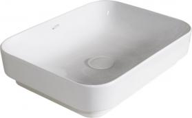 Isvea SOTT AQUA keramické umyvadlo 50x38cm, bílá 10SQ51050