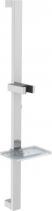 Sapho Posuvný držák sprchy s mýdlenkou, 684mm, chrom 1206-07