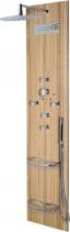 Polysan FLAT OVAL sprchový panel 400x2000mm, Kokos 80620-0335