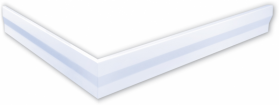 Gelco Panel čelní 80x80cm, výška 10cm GP008