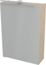 Sapho RIWA galerka s LED osvětlením, 50x70x17 cm, dub benátský RW057