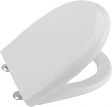 Aqualine ABSOLUTE / RIGA WC sedátko Soft Close, duroplast, bílá 40R30700I