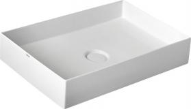 Alice Ceramica ICON umyvadlo 60x37 cm, včetně výpusti s keramickou zátkou 31130101
