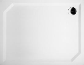 Gelco SARA sprchová vanička z litého mramoru, obdélník 90x70x4cm, hladká HS9070