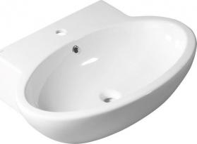Isvea B PLUS keramické umyvadlo 60x51cm (DYNASTY 10SF52060) 10BP50060