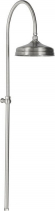 Reitano Rubinetteria ANTEA sprchový sloup k napojení na baterii, hlavová sprcha, nikl SET018