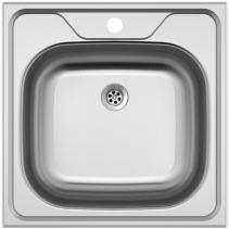 Nerezový dřez Sinks CLASSIC 480 M 0,6mm matný STSCLM4804806M