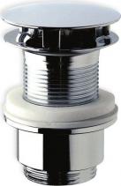 Omp Tea Neuzavíratelná kulatá výpusť pro umyvadla bez přepadu, V 30-45mm, chrom 147.555.5