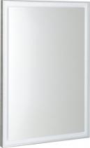 Sapho LUMINAR zrcadlo v rámu s LED osvětlením 600x800mm, chrom NL557