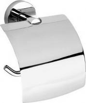Sapho X-ROUND E držák toaletního papíru s krytem, chrom XR705