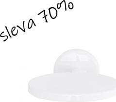 Nimco Kalypso Celokovový mýdelník-bílý KA 7459K-51