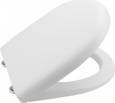 Aqualine ABSOLUTE / RIGA WC sedátko, duroplast, bílá 40R30100I