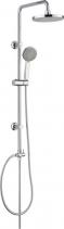 Mereo Sprchová souprava Sonáta - plastová hlavová sprcha a třípolohová ruční sprcha CB60101SP