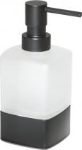Gedy LOUNGE dávkovač mýdla na postavení, černá mat 545514