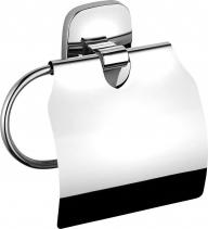 Aqualine RUMBA držák toaletního papíru s krytem, chrom RB107