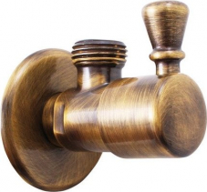 Sapho Rohový ventil, 1/2'x 1/2', bronz ROTO6