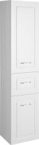 Aqualine FAVOLO vysoká skříňka košem 40x184x31cm, bílá mat FV180