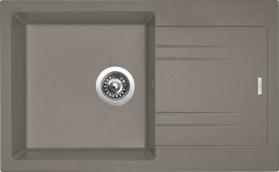 Granitový dřez Sinks LINEA 780 N Truffle SIGLI780480N54