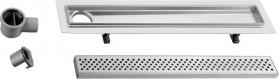 Sapho FLOW 77 nerezový sprchový kanálek s roštem, 770x150x82 mm FP142