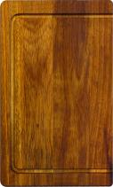 Sinks přípravná deska 413 x 250mm dřevo SD105