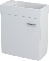 Sapho LATUS IV umyvadlová skříňka 49, 5x50x25cm, bílá 55570