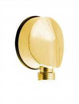 Sapho Vývod sprchy, průměr 50mm, zlato 9815