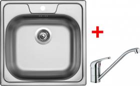 Nerezový dřez Sinks CLASSIC 480 6V+VENTO 4 CL4806VVE4CL