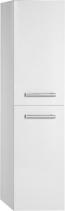Aqualine VEGA skříňka vysoká s košem, 40x150x31cm, levá/pravá, bílá VG160
