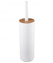 Aqualine SNOW WC štětka na postavení, bílá 7582