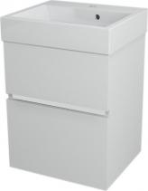 Sapho LARGO umyvadlová skříňka 49x60x41cm, bílá LA501
