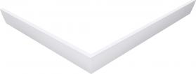 Polysan KARIA 100x80 rohový panel, výška 11 cm, pravý 45812R