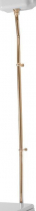 Kerasan WALDORF-RETRO trubka k nádržce, bronz 757393
