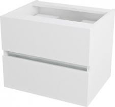 Sapho AVICE umyvadlová zásuvka 60x50x48cm, bílá AV065