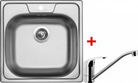 Nerezový dřez Sinks CLASSIC 480 5V+PRONTO CL4805VPRCL
