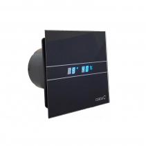 Cata E-100 GBTH koupelnový ventilátor axiální s automatem, 4W/8W, potrubí 100mm, černá 00900602