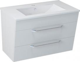Sapho KALI umyvadlová skříňka 74x50x45cm, bílá (56076) KA075-3030
