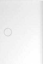 Polysan MIRAI sprchová vanička z litého mramoru, obdélník 90x80x1, 8cm, pravá, bílá 73168